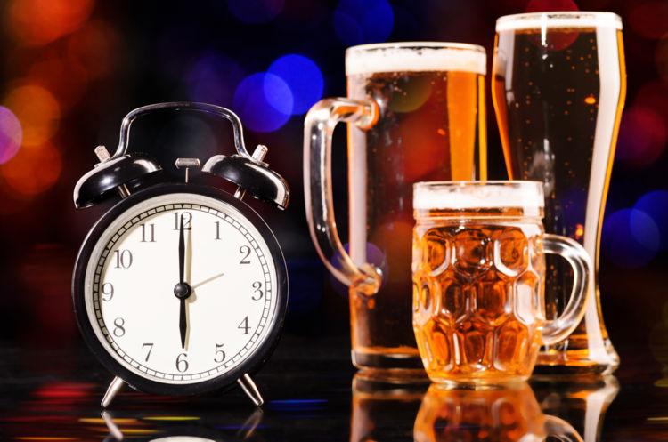 ビールの分解時間を知っていますか?