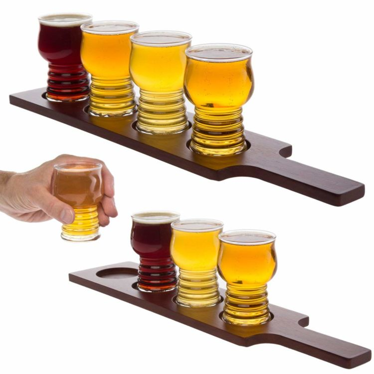 自宅で気軽にビールテイスティングがたのしめるグラスセット