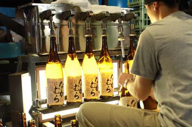 焼酎「なかむら」(中村酒造場)創業以来の純手作りが生み出す本格焼酎