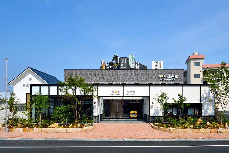 岡山の酒蔵見学のあとはレストランで乾杯!