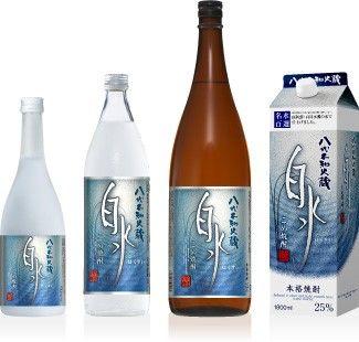 熊本の焼酎【白水(はくすい)】湧き出でる泉の如く清らかに