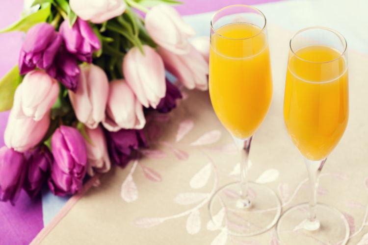 この世でいちばん贅沢でおいしいオレンジジュース「ミモザ」