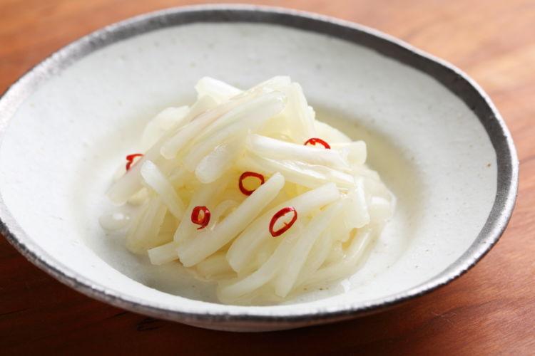 カンタンお漬物風おつまみ「甘酢白菜(ラーパーツァイ)」