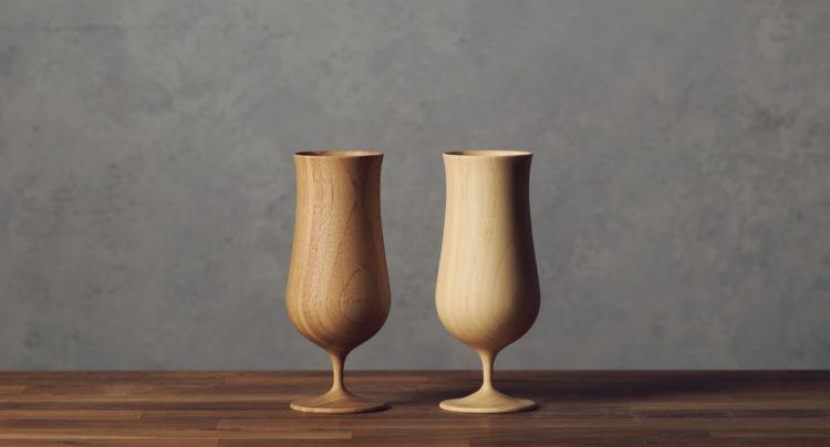 最後のひとくちまでおいしく飲める、竹から生まれたビアグラス