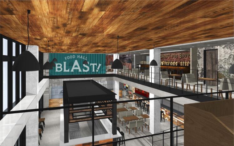 バスタ新宿近くにアメリカンフードホールがOPEN! 日本初上陸のお店など6店舗が集結