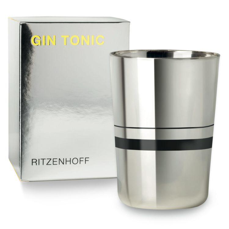 話題のクラフトジンでジントニックをおいしく飲める専用グラス