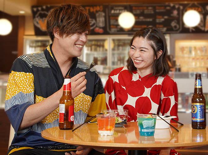 スーパー銭湯「RAKU SPA 1010 神田」でお風呂上がりの一杯をたのしもう!