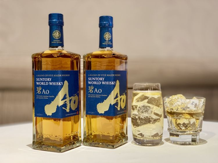 世界5大ウイスキーの原酒を匠の技でブレンドしたウイスキー「碧Ao」がサントリーから新発売!