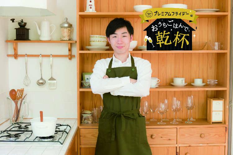 今夜はキッチンで、お父さんが大将に。にぎらない寿司で「ヘイ、お待ち!」