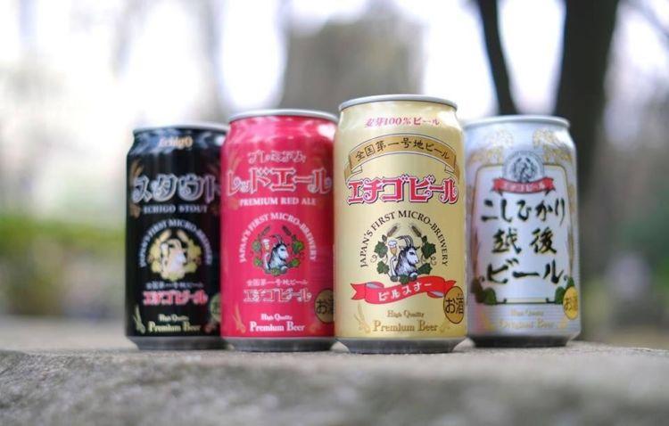 新潟のビール【エチゴビール】全国第1号の地ビール