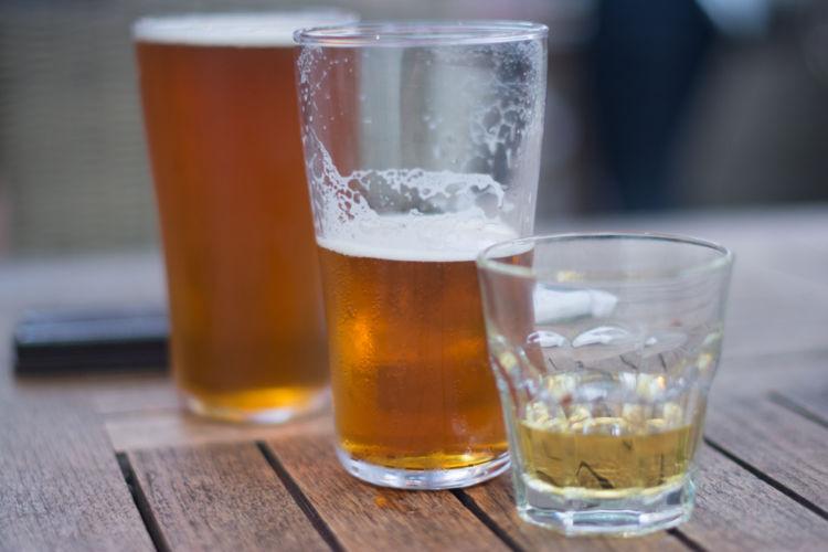 ウイスキーのチェイサーにビールが似合う?