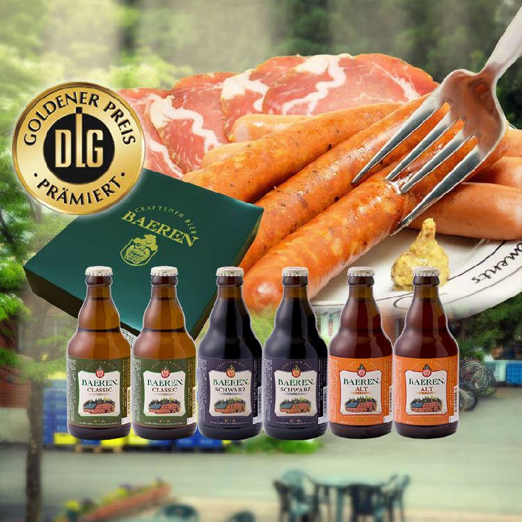 マイスターの競演! 盛岡発、本場ドイツの製法で造る「ビール&ソーセージギフト」