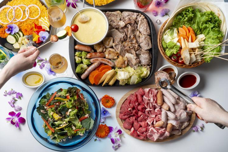 松屋銀座「美しくなるビアガーデン」。高タンパク・低カロリーにこだわった健康的メニューがうれしい!