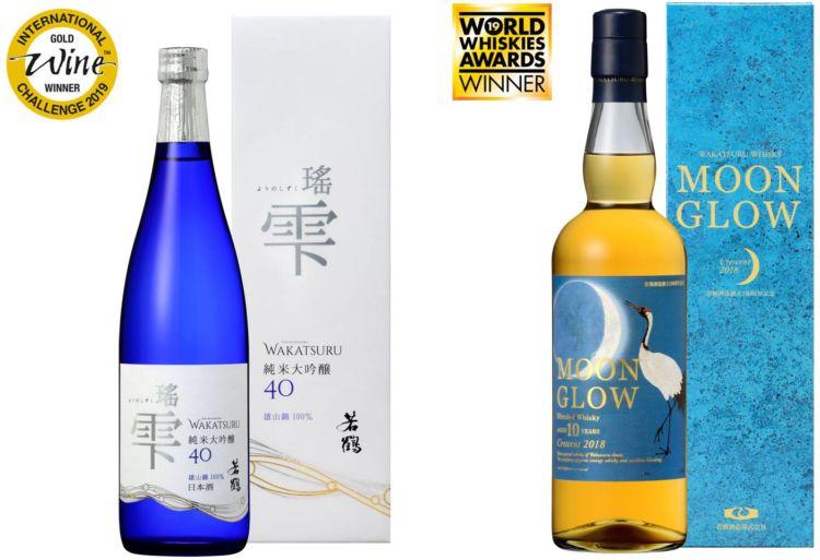 富山県「若鶴酒造」の日本酒&ウイスキーが、世界的なコンテストでダブル受賞の快挙!