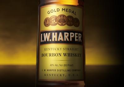 「I.W.ハーパー」は洗練された味わいのスタイリッシュなバーボンウイスキー