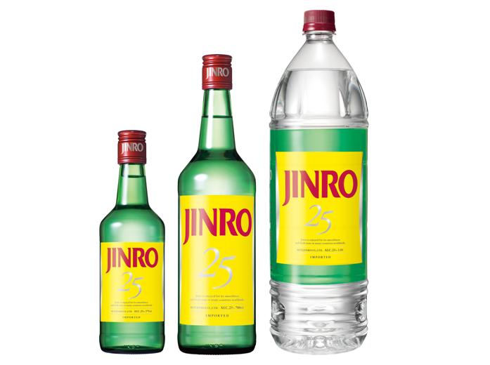 「jinro(ジンロ)」は焼酎カクテルに欠かせない甲類焼酎