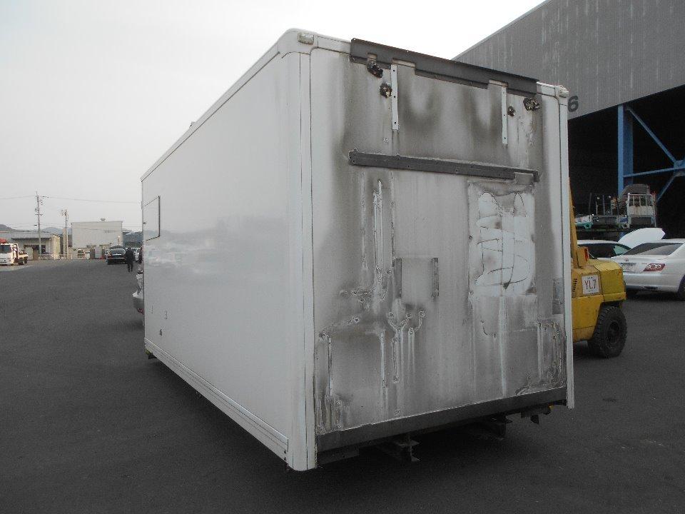 荷箱(アルミ) 外寸:228×217×495cm