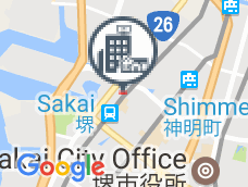 Apa Hotel Sakai Station front