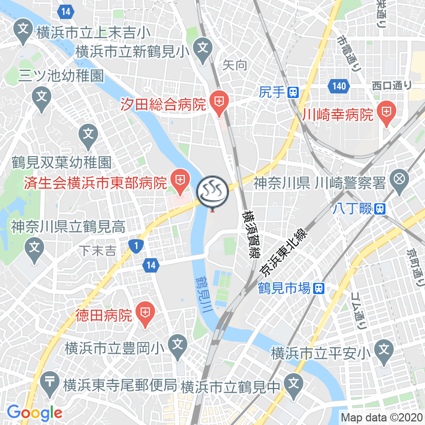 RAKU SPA 鶴見
