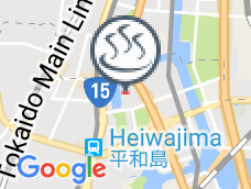 Heiwajima natural hot spring