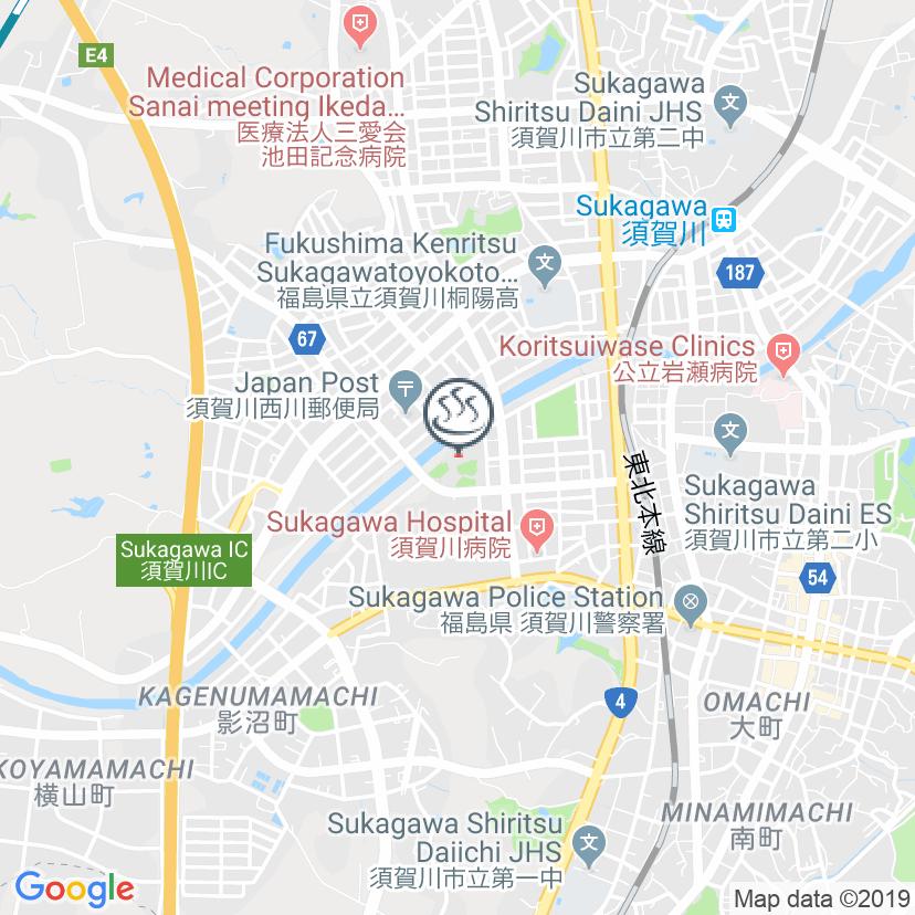 Sukagawa city citizen hot spring