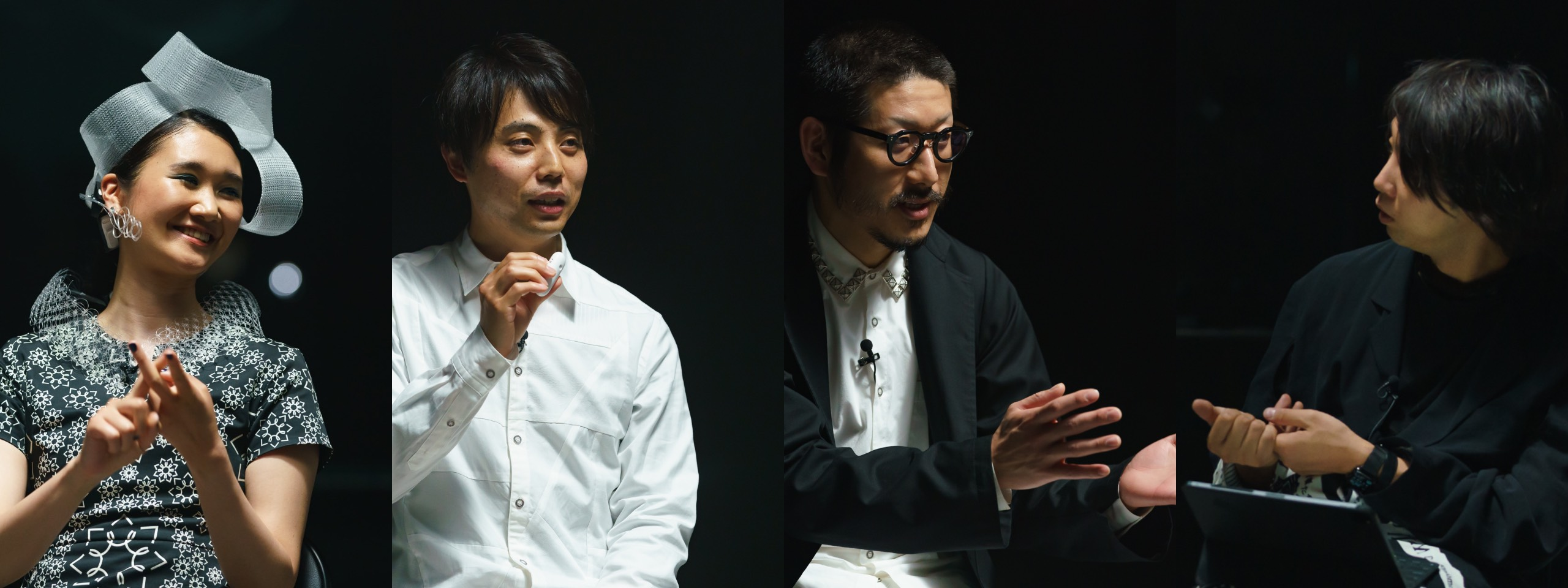 Backstage interview 2 casts