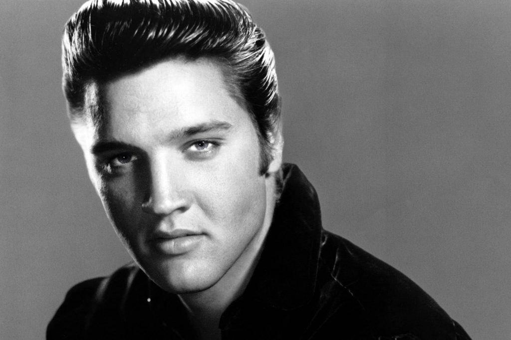 10 famous stutterers: Elvis Presley