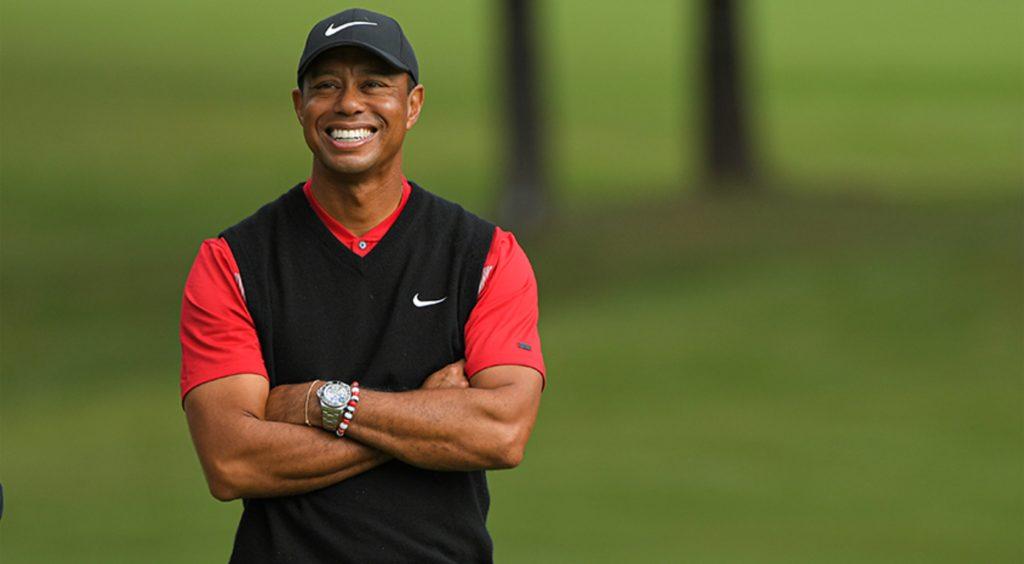 10 famous stutterers: Tiger Woods