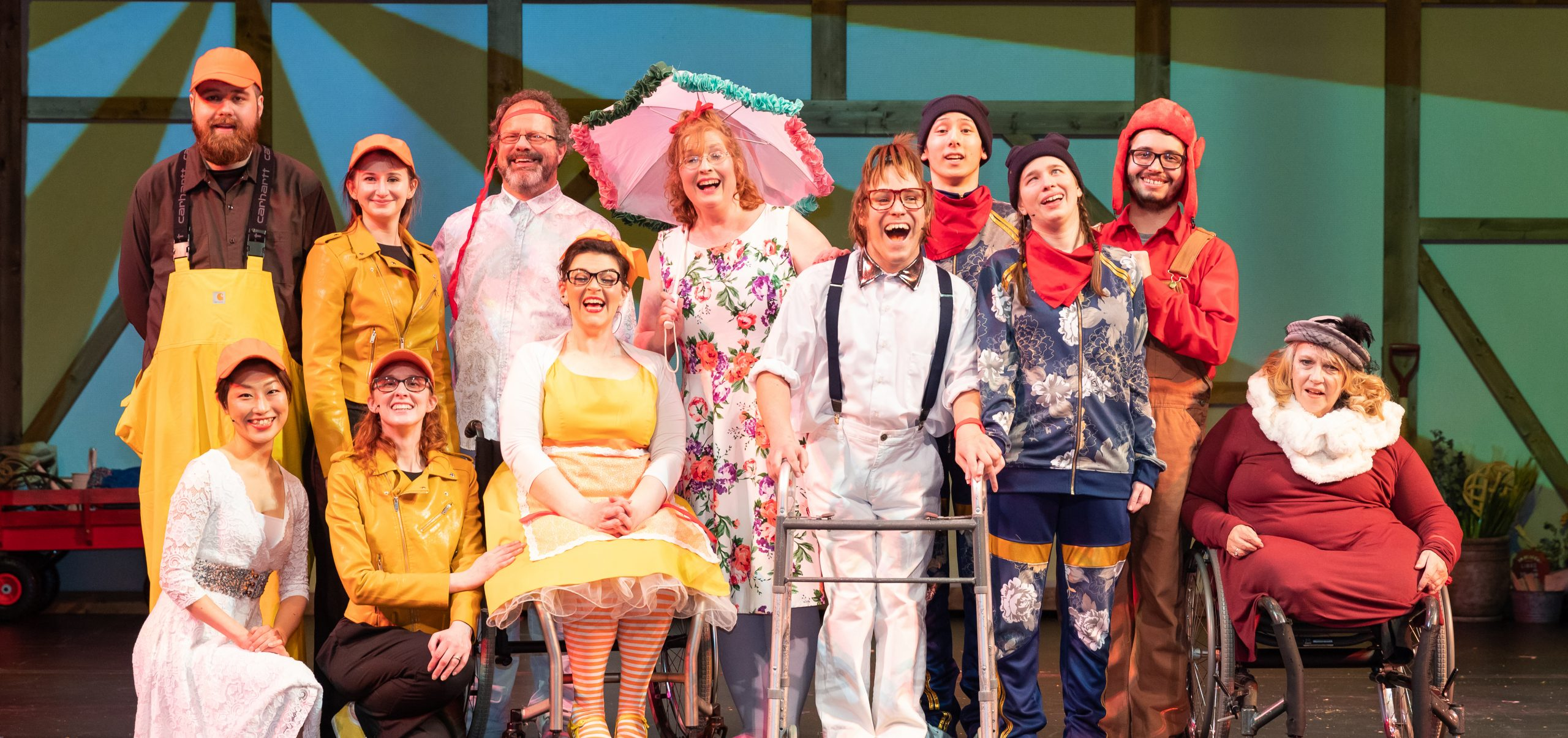 HONK goes to Japan: Language was certainly a barrier that the HONK cast comprising performers from the United States and Japan had to overcome / Credit: Ryohei Tomita