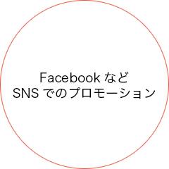 FacebookなどSNSでのプロモーション