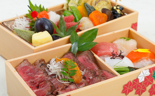 Halal Japanese Steak & Sashimi Bento
