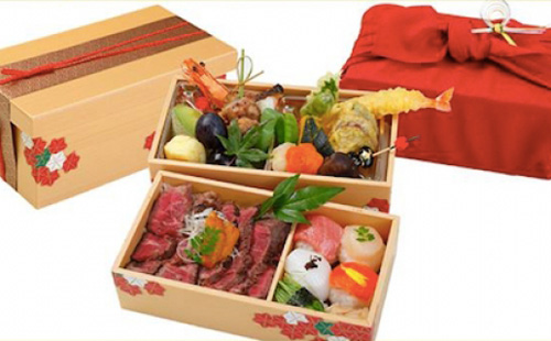 Halal Japanese steak & Roast Chicken Bento