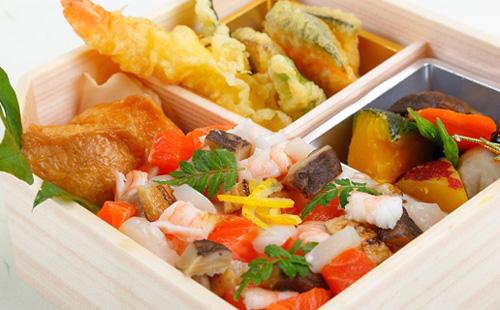 Halal Chirashi Sushi Bento