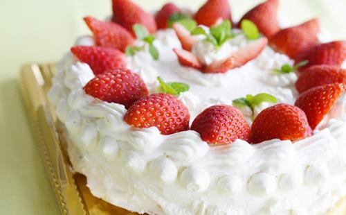 Halal Strawberry cake