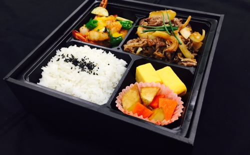 """Halal Kobe Beef"" Sukiyaki Bento(Heating type box)"