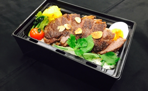 Halal Steak bowl of rice Bento(Heating type box)