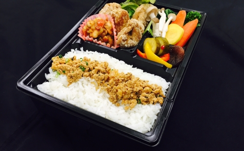 Vegetarian Bento -Halal correspondence-(Heating type box)