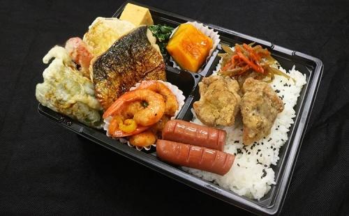 和食彩り幕の内弁当(加熱式容器)
