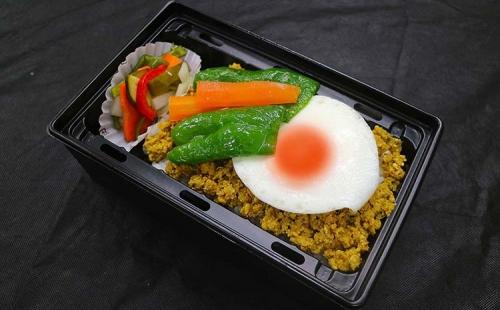 Dry curry Bento(Heating type box)
