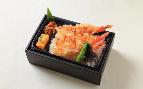 海老天丼弁当(加熱式容器)