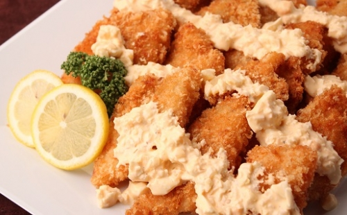 Deep-fried White Fish with Tartar Sauce