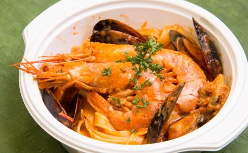 Seafood Pasta Bento
