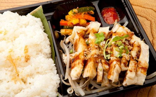 Chicken Rice Bento