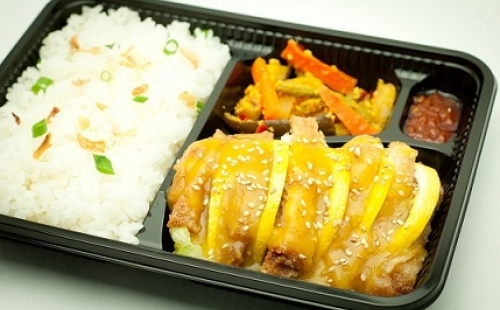 Lemon Chicken Bento