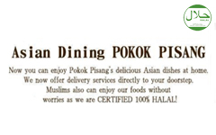 asian dining POKOK PISANG