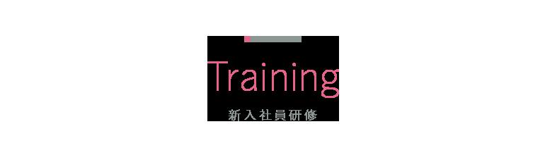 Training 新入社員研修