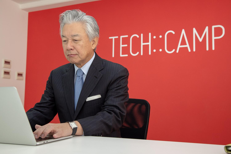 スカイマーク会長 佐山氏 TECH::CAMPでプログラミングを学ぶ