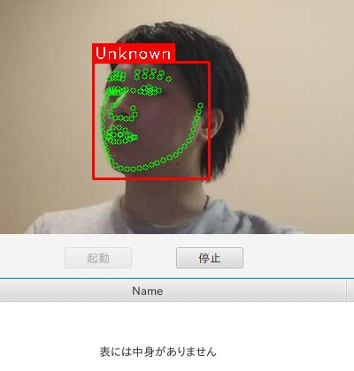 顔は認識できても、特定の人物と判断できなかった場合