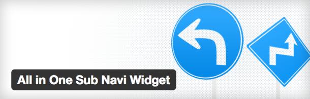 All in One Sub Navi Widget