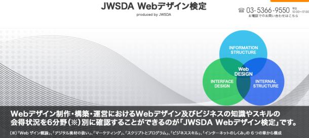 JWSDA Webデザイン検定
